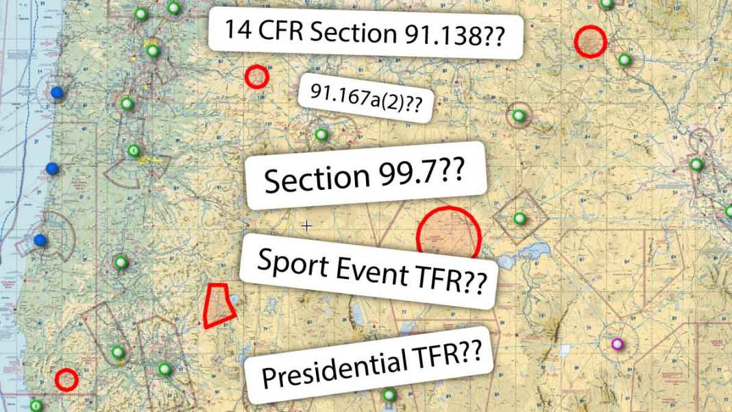 TFR for Drone Pilots