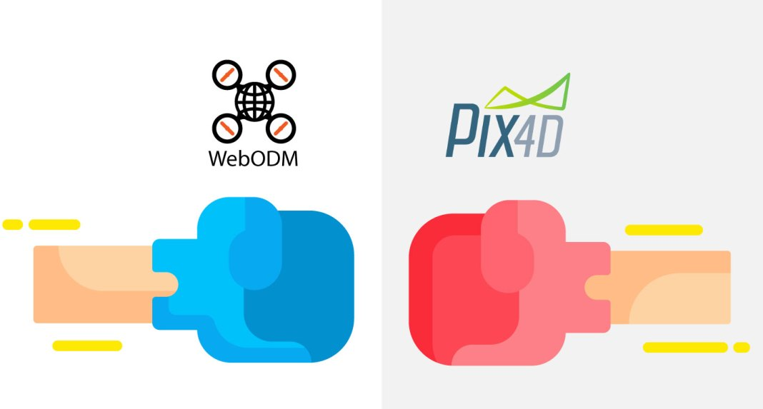 WebODM vs Pix4D