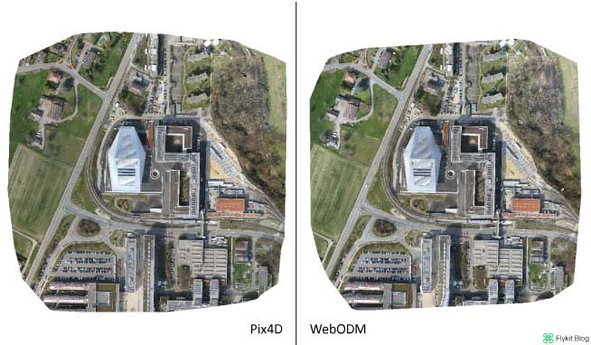 Pix4D vs WebODM - UAV Demo 1