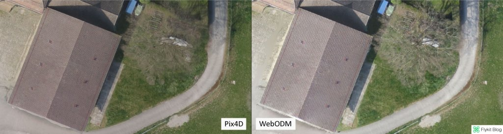 Pix4D vs WebODM - UAV Demo 6