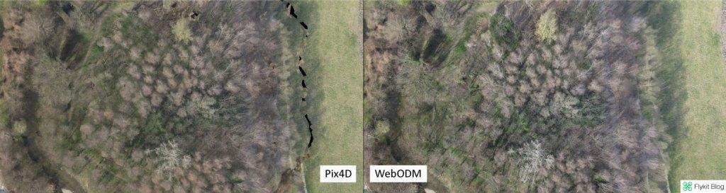 Pix4D vs WebODM - UAV Demo 8