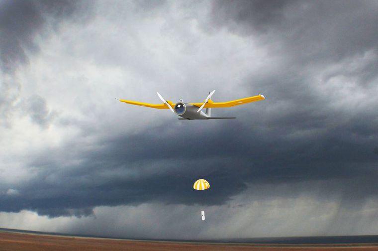 storm drones