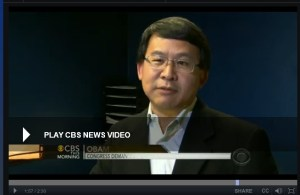 Luke Chung on CBS News