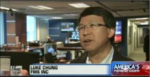 Luke Chung on Fox News with Peter Doocy
