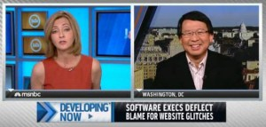 Luke Chung and Chris Jansing on MSNBC