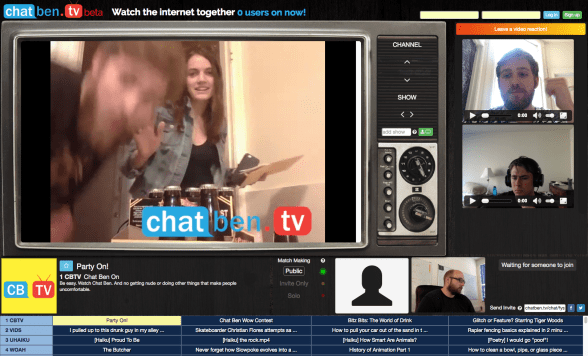 Watch Twitch with your friends using a webcam!