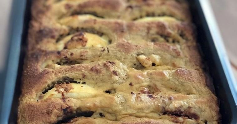 Deliziosa torta di mele, senza glutine e vegana