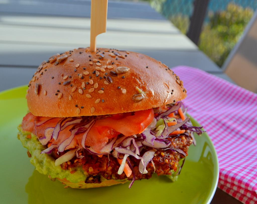 Burger aus Sorghumhirse – vegan und glutenfrei