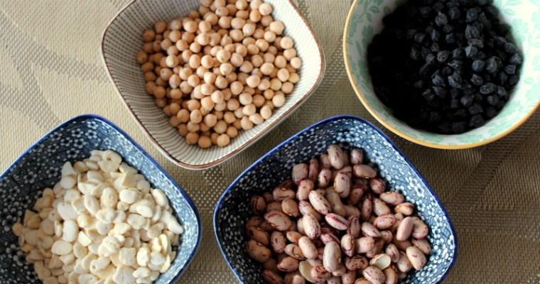 Getrocknete Hülsenfrüchte, ideal zubereitet!