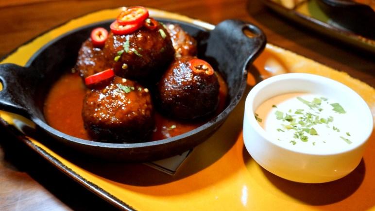 Buffalo BBQ Style Meatballs