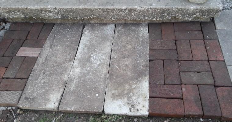 Repurpose Concrete Splash Guards