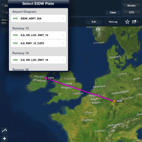 DOD approaches shown for Dublin.