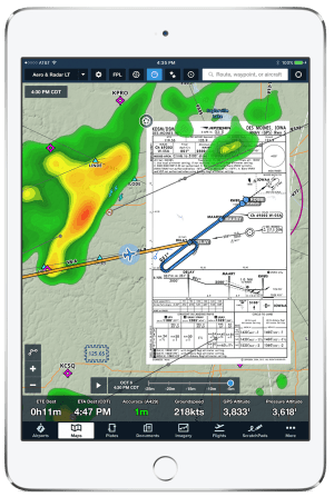 ForeFlight and SDR connectivity