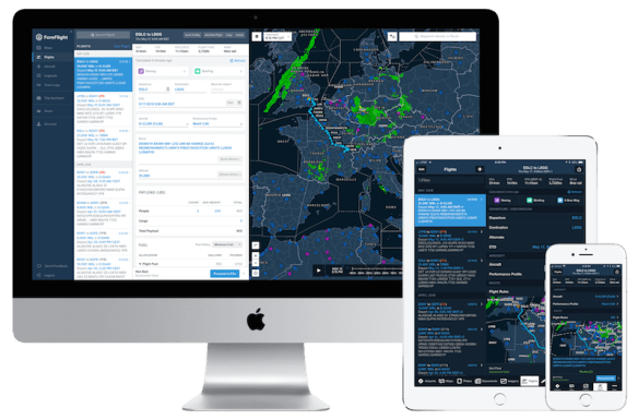 ForeFlight Mobile to web for Europe