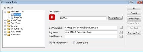 Create Kix2Exe Tool