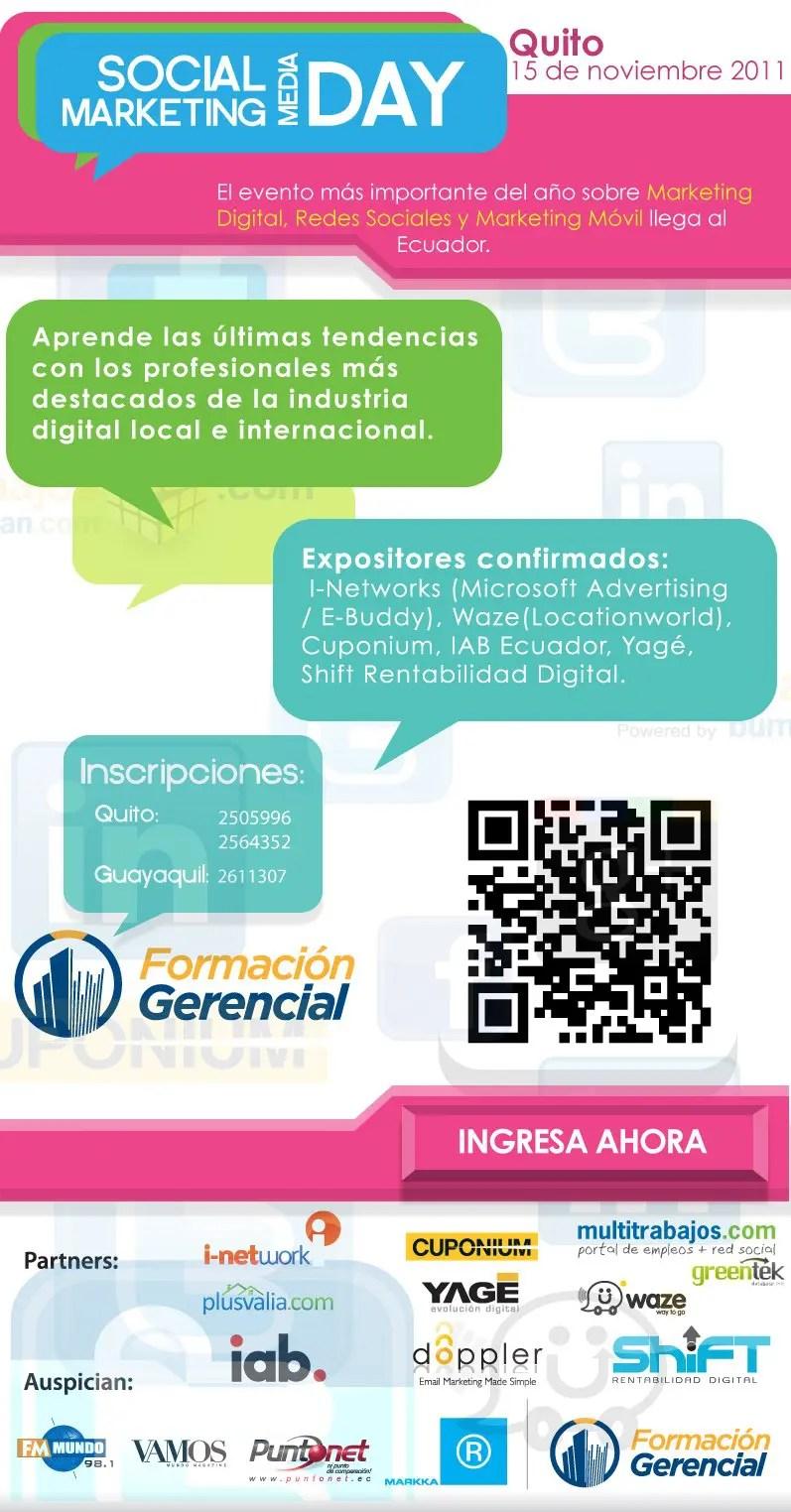 Social Media Marketing Day Ecuador