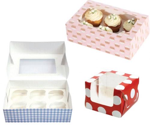 Cajas para cupcakes, ideales para el transporte y la presentación