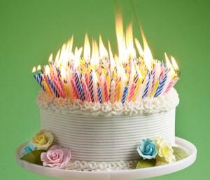 12 formas creativas de velas para tartas 1