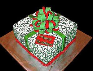 2 tartas de navidad con obleas para tartas 3