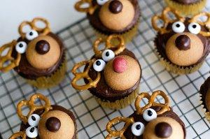 5 ideas de decoración para cupcakes navideños 3