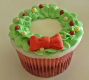 5 ideas de decoración para cupcakes navideños 5