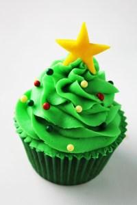 5 ideas de decoración para cupcakes navideños1