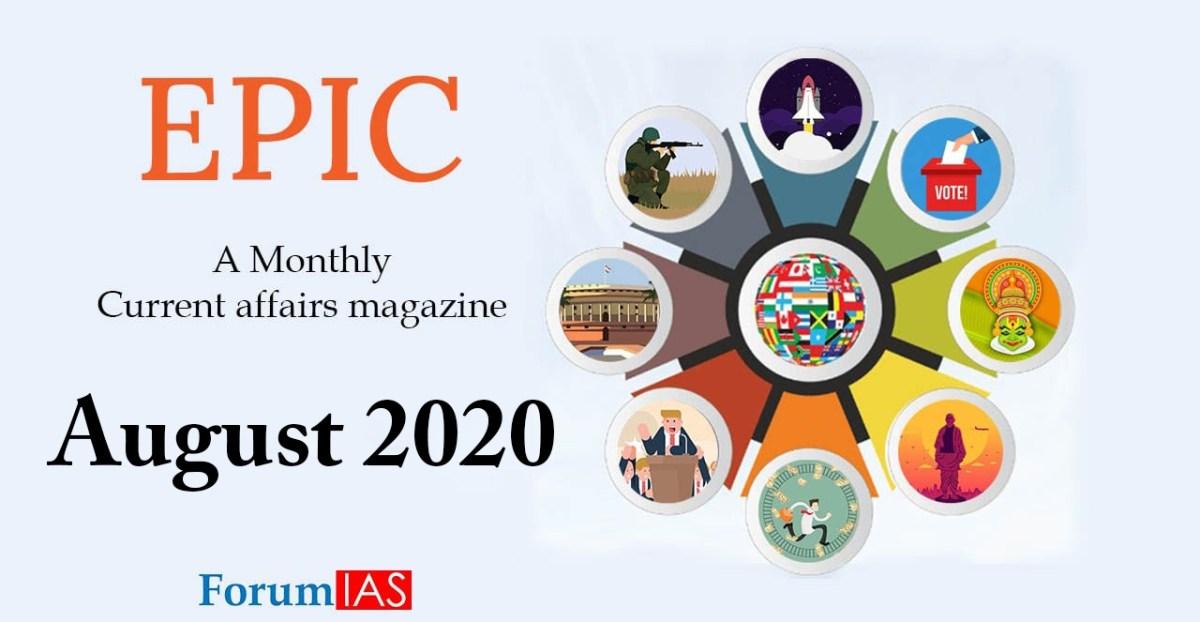 EPIC Magazine - August Month 2020