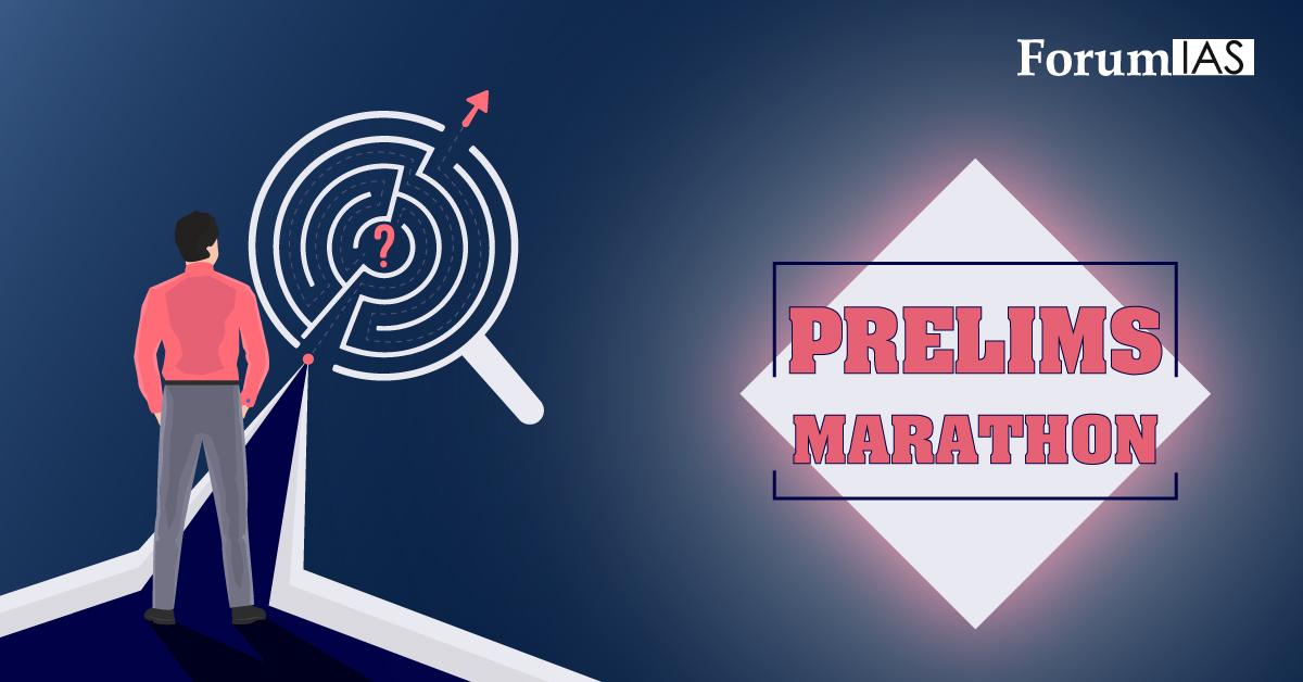 PRELIMS-MARATHON
