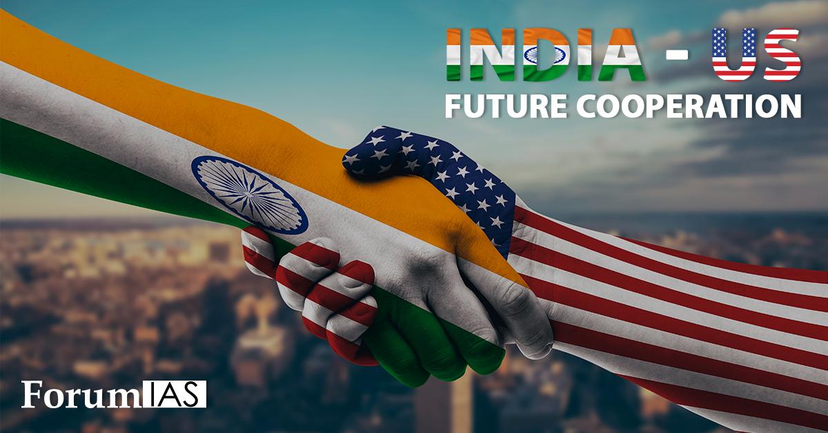 India – US future cooperation
