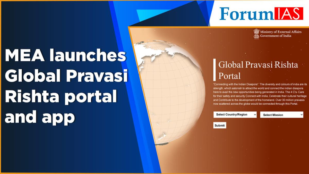 MEA launches Global Pravasi Rishta portal and app