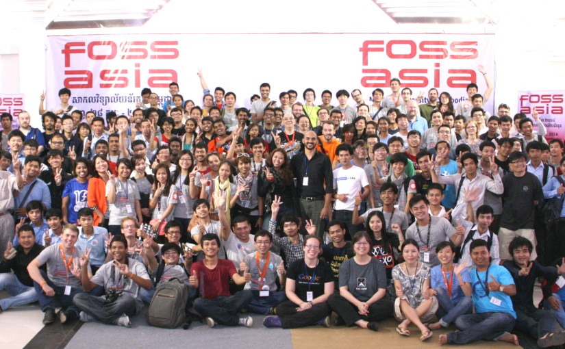 FOSSASIA Open Technology Summit 2015 in Singapore