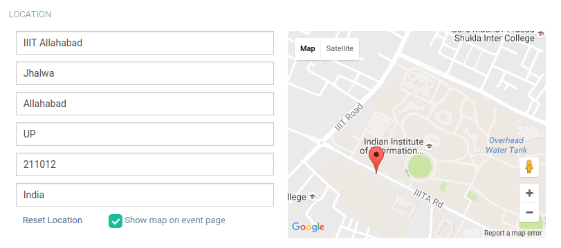 Autocomplete Address Form using Google Map API