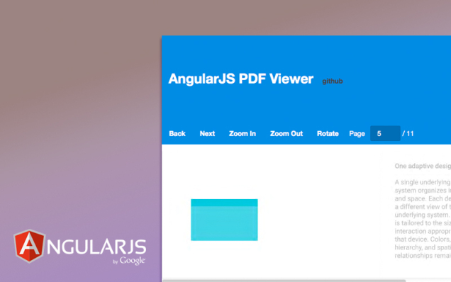 Developing a pdf viewer in AngularJs | blog fossasia org