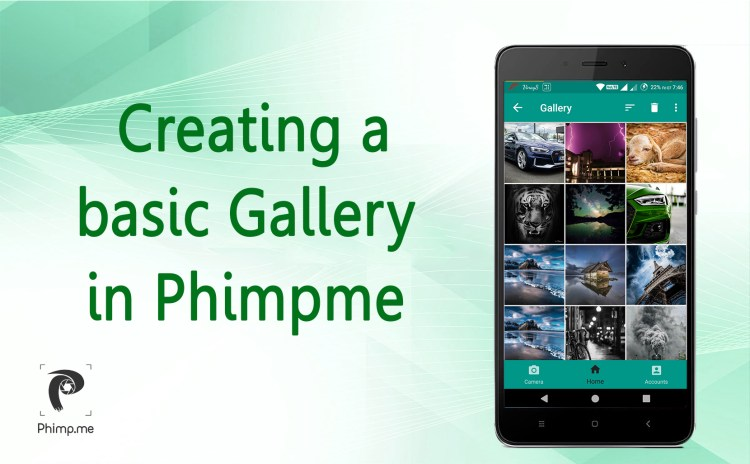 Creating a basic Gallery in Phimpme Android