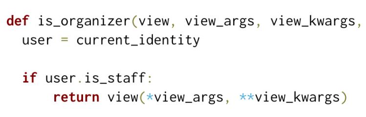Decorators in Open Event API Server