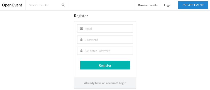 Implementing Registration API in Open Event Front-end