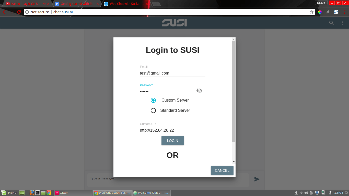 Setting up Your Own Custom SUSI AI server