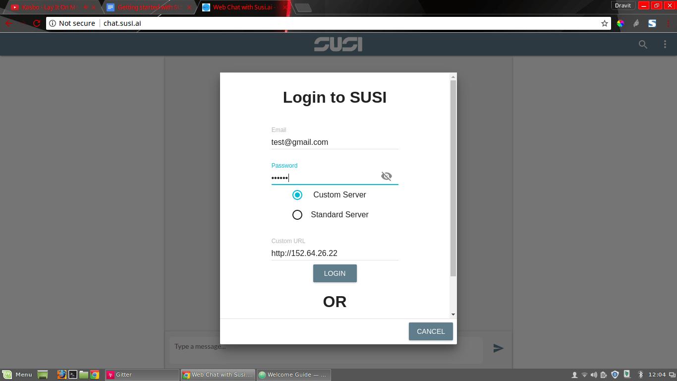 Setting up Your Own Custom SUSI AI server