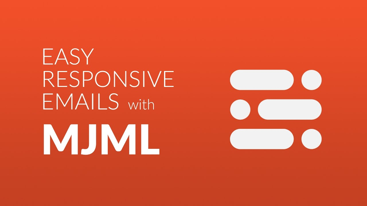 Generating responsive email using mjml in Yaydoc