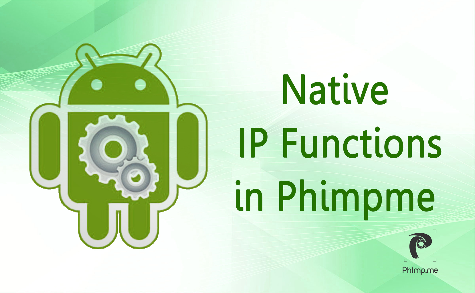 Native Functions for Performing Image Processing in Phimpme Android