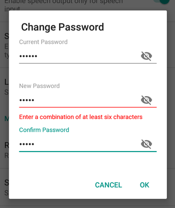 Change Password | blog fossasia org