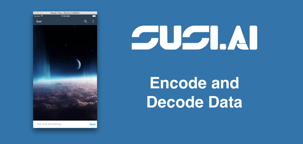 Encoding and Decoding Images as Data in UserDefaults in SUSI iOS