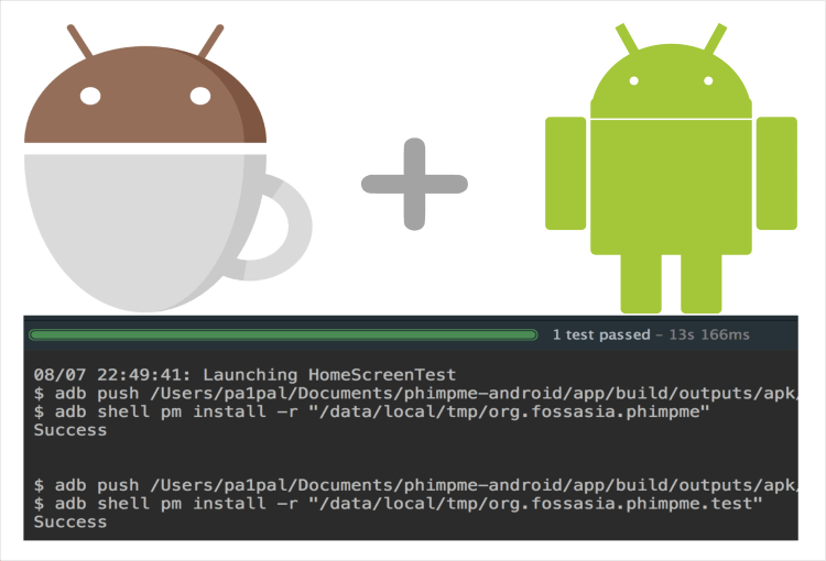 UI Espresso Test Cases for Phimpme Android