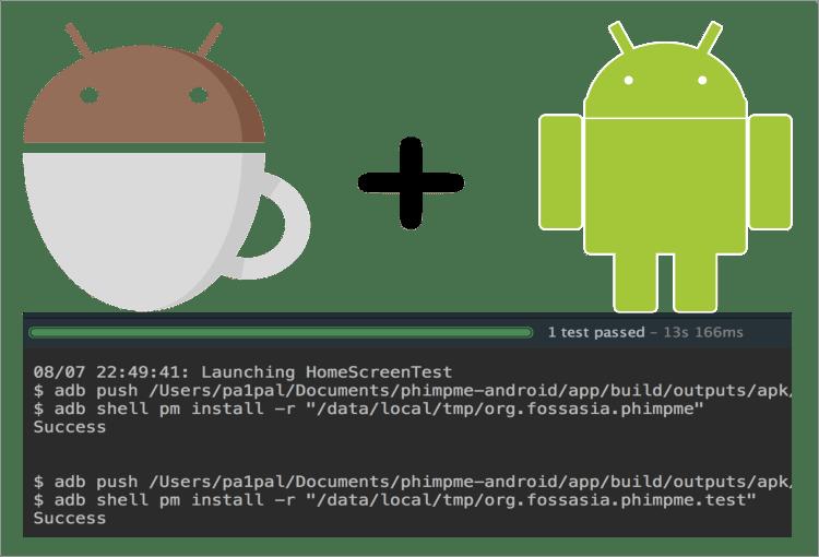 UI Espresso Test Cases for Phimpme Android