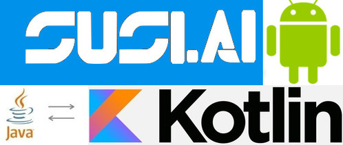 Shift from Java to Kotlin in SUSI Android