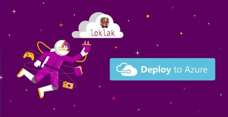 Deploy to Azure Button for loklak