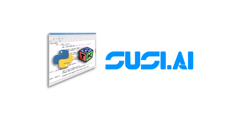 Making GUI for SUSI Linux with PyGTK