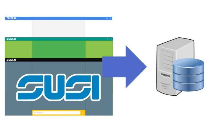 How SUSI AI Web Chat Custom Theme Settings are Stored in Server