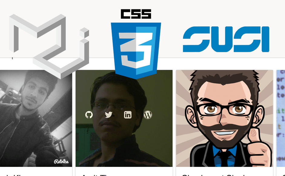 Sorting Users and Implementing Animations on SUSI Web Chat Team Page