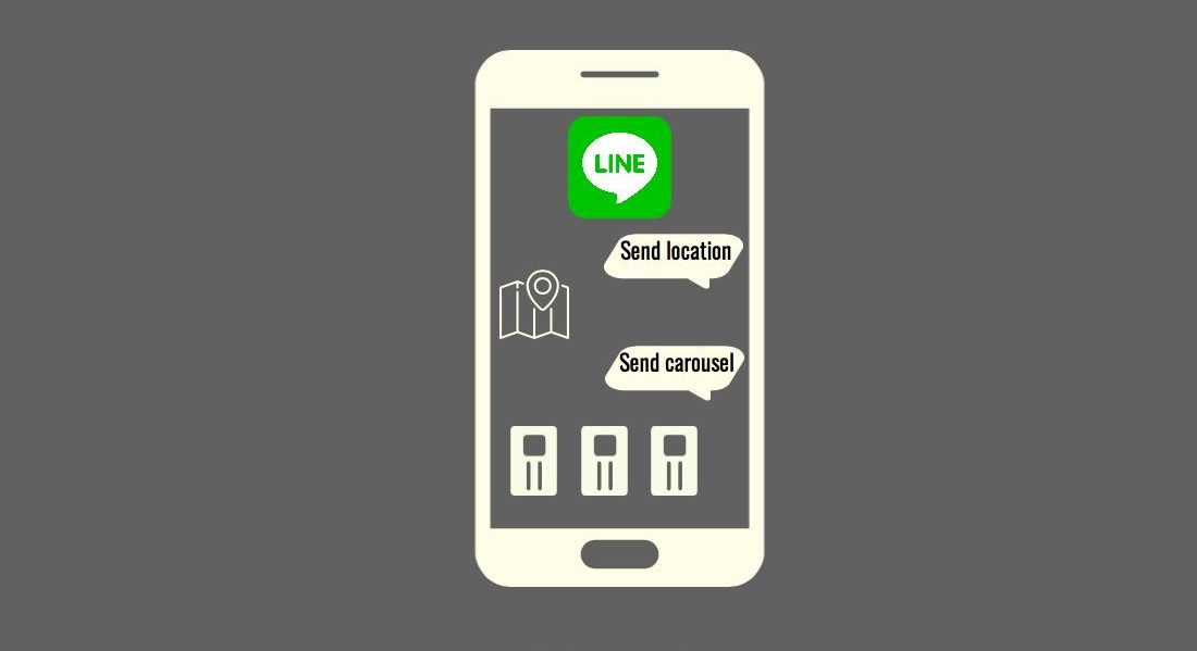 Enhancing SUSI Line Bot UI by Showing Carousels and Location Map